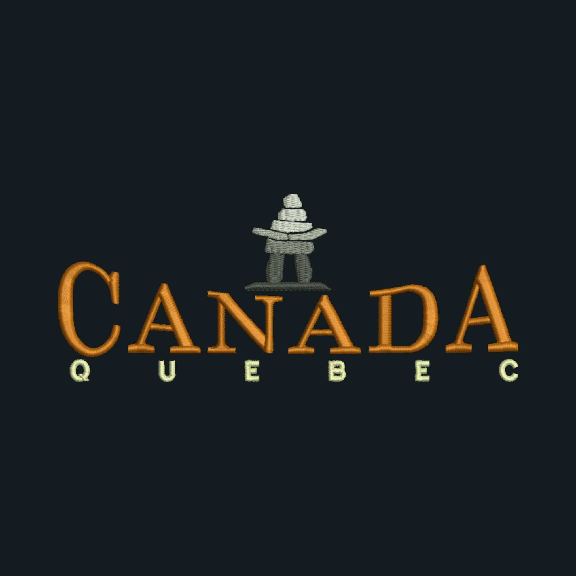 Canada with Inukshuk