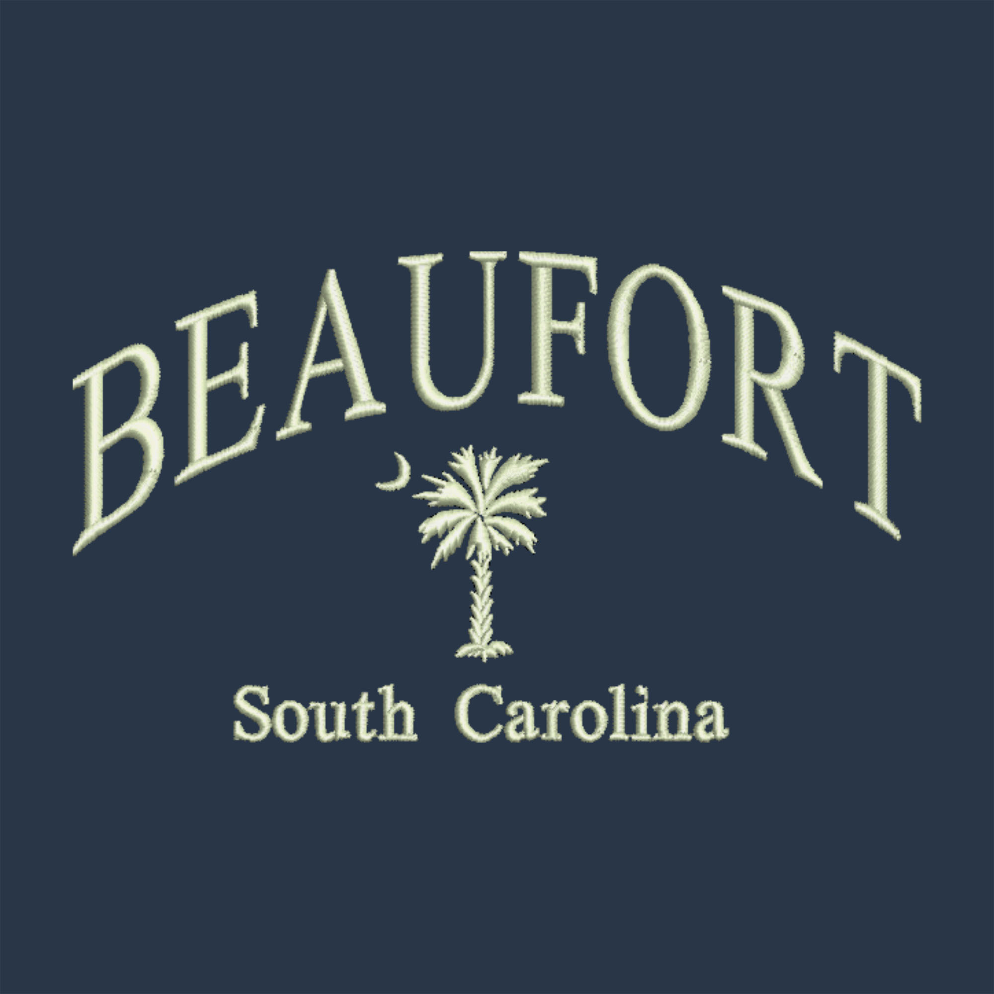 Arched Lettering South Carolina